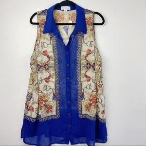 Forever 21 short sleeve plus size blouse